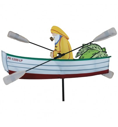 WHIRLIGIG - 18 IN. FISHERMAN