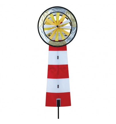 RED & WHITE LIGHTHOUSSE SPINNER
