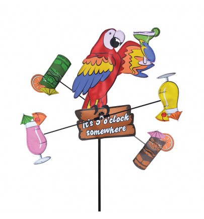 WHIRLIGIG - 12 IN. ISLAND PARROT