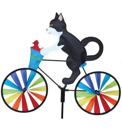 BIKE SPINNER TUXEDO CAT