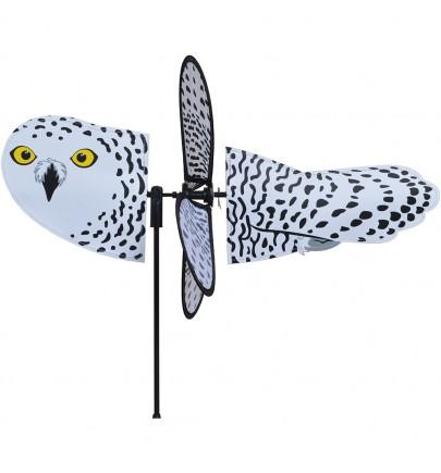 PETITE SPINNER - SNOWY OWL