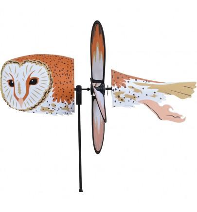 PETITE SPINNER - BARN OWL