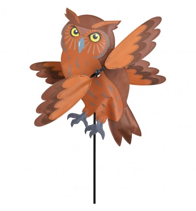 WHIRLIGIG - 17 IN. BROWN OWL