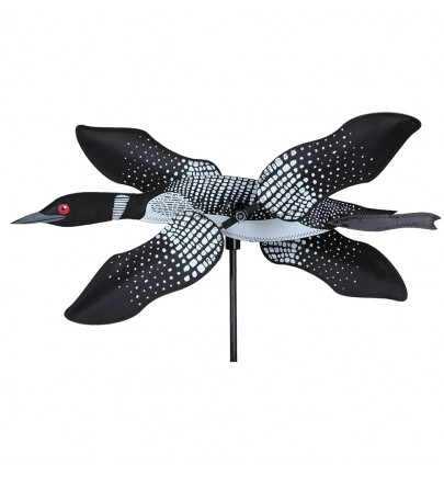 WHIRLIGIG - 19 IN. LOON