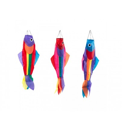 MANCHE A AIR POISSON (3 ASSORTIES) 40 CM