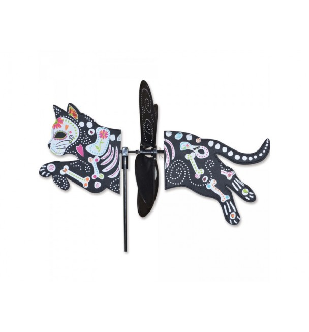 PETITE SPINNER - DAY OF THE DEAD CAT