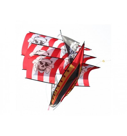 XKITES 3D pirate ship