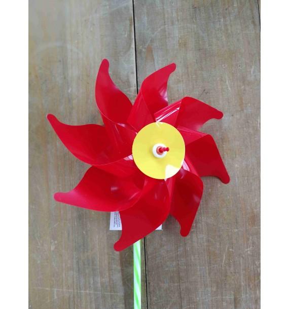 Moulins à vent 16 cm à rouge