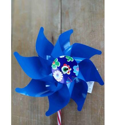 Moulins à vent 16 cm à Bleu