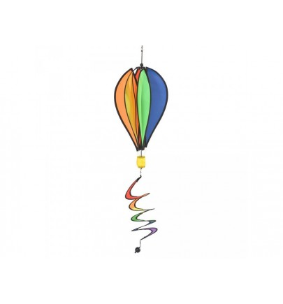 RHOMBUS GIROUETTE HOT AIR BALLON RAINBOW
