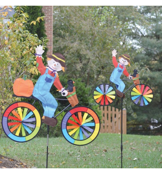 BIKE SPINNER SCARECROW
