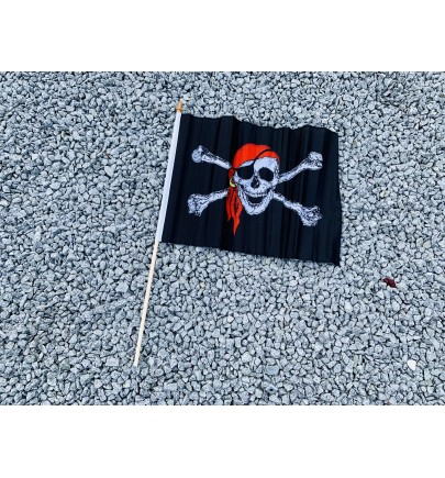 Drapeau pirates noir