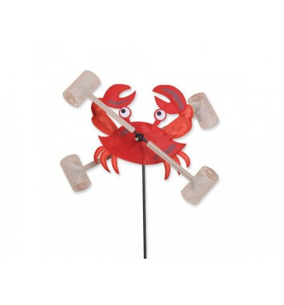 PK 12 IN. WHIRLIGIG SPINNER- CRAB