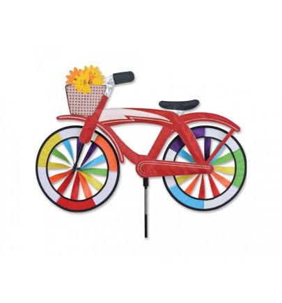 PK BIKE SPINNER - RED CLASSIC CRUISER