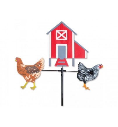 PK SINGLE CAROUSEL - CHICKENS & CHICKEN COOP