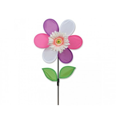 PK 12 IN. FLOWER - PINK DAISY